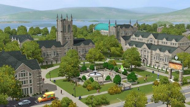 Primeras imágenes de la próxima expansión de los Sims 3: Movida en la Facultad  44