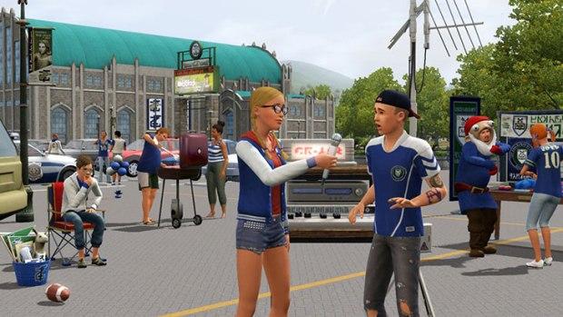 Primeras imágenes de la próxima expansión de los Sims 3: Movida en la Facultad  45