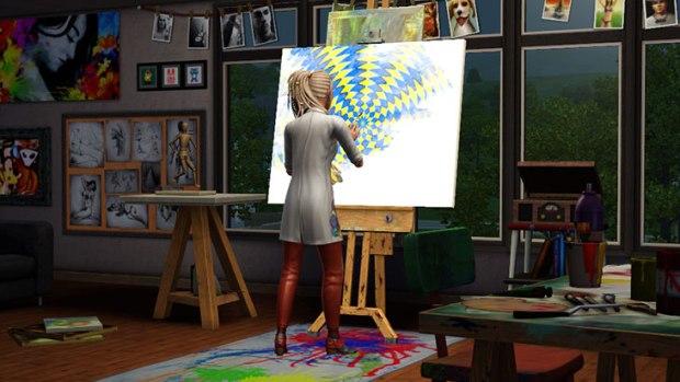 Primeras imágenes de la próxima expansión de los Sims 3: Movida en la Facultad  48