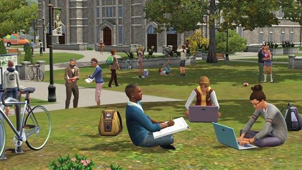 Primeras imágenes de la próxima expansión de los Sims 3: Movida en la Facultad  49