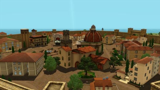 Impresiones de Monte Vista, nuevo barrio de EA Store Screenshot
